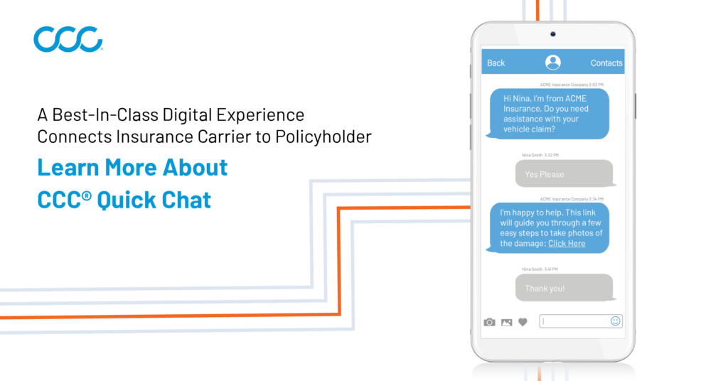 CCC® Quick Chat Can Add Support to the Digital Customer Experience