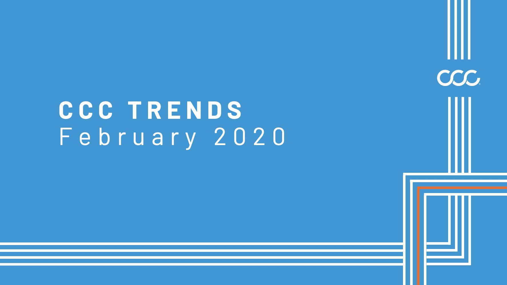CCC Trends with Susanna Gotsch – February 2020